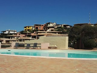 Porto Cervo, full terraced house on old marina