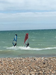 Windsurfing equipment available for hire - local