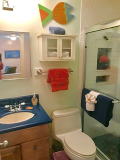 Bathroom with Amenities!!