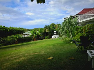 Garden hillside