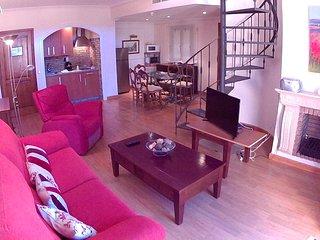 Precioso apartamento-Duplex en la Bahia de Cadiz terraza y vistas a la bahia.