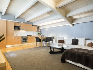 Attic in Barcelona for Monthly Rentals