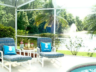 Sunset Lake View with private pool-Less then 8 minutes away from Disney