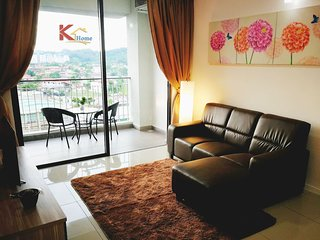 K Home -Sunset View 日落美景公寓 3B2R(6Pax) Near CityCentre & Airport