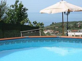 Villa con Piscina e vista mare a Marina di Camerota