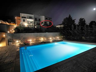Apartman Stara Novalja,private beach,swimming pool
