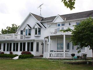 Water Front Home in Baileys Harbor on the quiet side of beautiful Door County