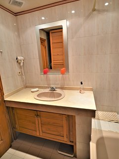 'en suite' bathroom due to be totally refurbishment in August