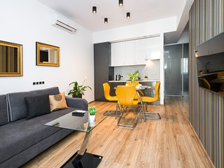 Contemporary Flair III, 2br/2bth, 90sqm, air-con, Unesco listed Kazimierz