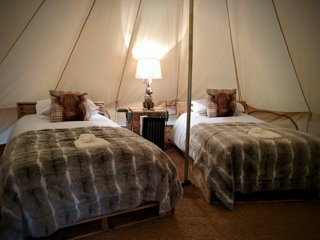 Bell Tent 3: Bridgnorth Glamping & Fishing Breaks