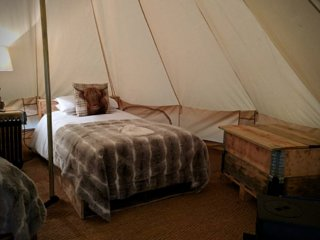 Bell Tent 5: Bridgnorth Glamping & Fishing Breaks