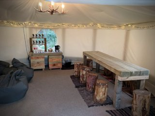 Yurt: Bridgnorth Glamping & Fishing Breaks