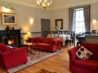 Elan Holiday Apartment in Country Mansion House, Spa facilities on site.