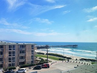 Ocean Point - Oceanfront 1BR/1BA Condo Pool Jacuzzi & Ocean View