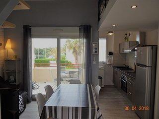 T2 28 m2 + terrasse + mezzanine