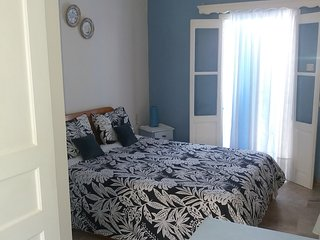 NICE DOUBLE STUDIO NEAR TO LINARIA/KANTOUNI BEACHES AT PANORMOS VILLAGE