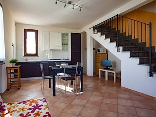 Corregiolo - Modern one-bedroom apartment with veranda in Suvereto