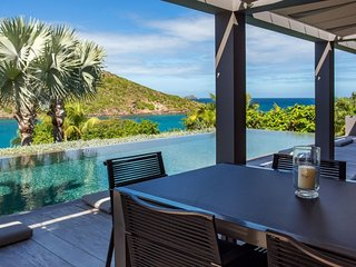 Villa Eden House | Ocean View * Located in  Fabulous Marigot with Private Pool