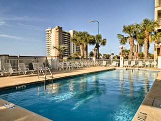 NEW-Gulf front Orange Beach Condo w/Pool & Balcony