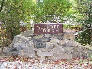 Wounded Fork - Tucked away in the mountains Valle Crucis, NC
