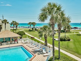 Amazing Gulf Views at 17B Blue Surf on Scenic Gulf Hwy in Destin with Easy Beach