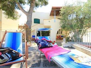Appartamento in villa sul mare, 4 posti