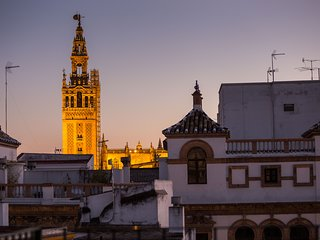 Duplex Town Center Seville with Private Terrace, Great View at Francos St.