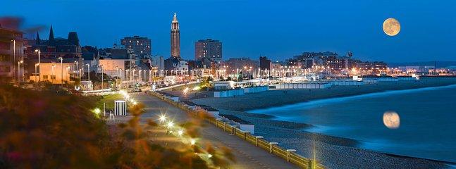 vue de la ville du Havre