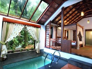 1-BR villa with a pool