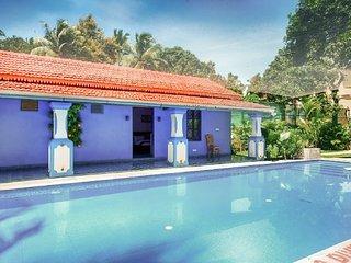 Palatial 7-BR pool villa, 2 km from Calangute Beach