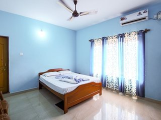 1-bedroom guest house,  1.2 km from Calangute beach