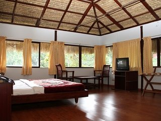 Spacious room for 3 in a bungalow