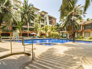 Elegant 1 BHK with a pool, near Calangute Beach