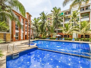 Elegant 1 BHK with a pool, near Baga Beach