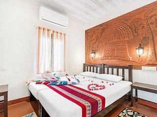 Commodious 2-BR for 6 villa on Marari Beach