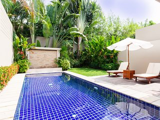 Luxury poolvilla inThe residence, Bang tao beach