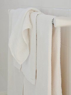 Four sets of towels