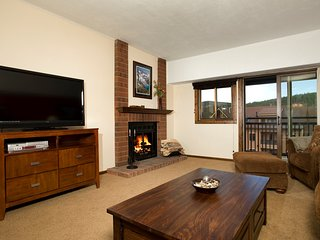 Slopeside Spacious Ski Condo Near the Shops with Access to 4 Hot Tubs!