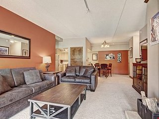 RARE FIND! Huge Premier Apartment with Fireplace + Hot Tub Access!!