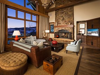 Convenient Ski-In/Ski-Out Access with Modern Mountain Decor