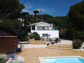 Maison de vacances avec piscine privée et vue mer à 3 km de Platja d'Aro.