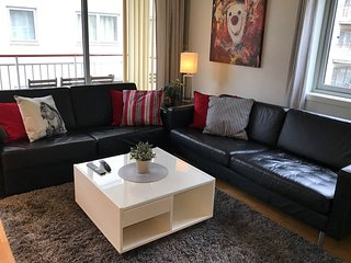 Apartment in the center of Oslo with Internet, Lift, Parking, Garden (670898)