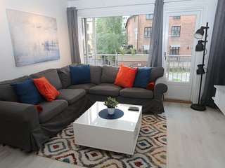 Apartment 24 m from the center of Oslo with Internet, Lift, Balcony, Washing mac