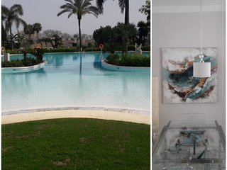 Chez Migs, Marbella - Golden Mile, Tropical views. Newly decorated flat