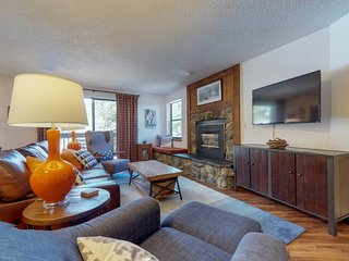 NEW LISTING! Ski-in/out home w/shared pool & hot tub - near town and lifts