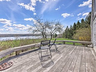 NEW! Waterfront Penobscot Home w/Deck on 5.6 Acres