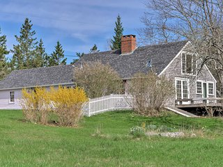 Historical Waterfront Penobscot Home on 5.3 Acres!