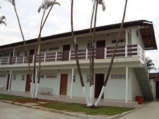 1 bedroom apartment for 6 people two blocks from Praia Grande Apto 03B Ubatuba
