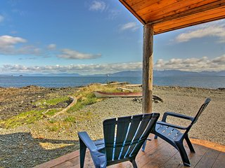 NEW! Coffman Cove Cabin w/ Clarence Strait Views!