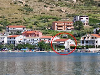 One bedroom apartment Metajna (Pag) (A-209-a)